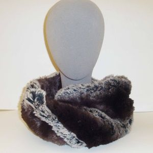 Neiman Marcus faux fur snood
